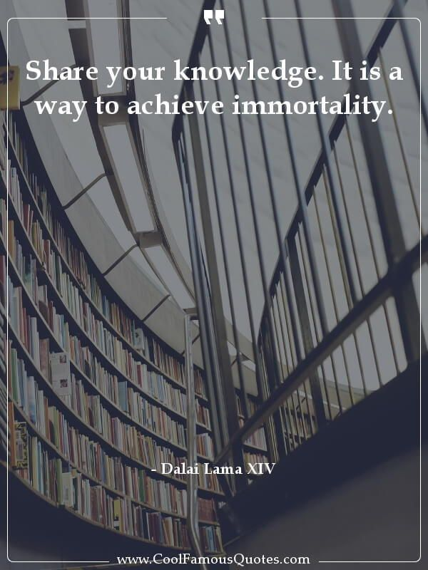 Best Knowledge Quotes